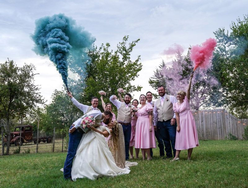 Texas Rock House Gender Reveal Party